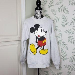 Vtg Mickey Mouse Disney Pullover Sweatshirt